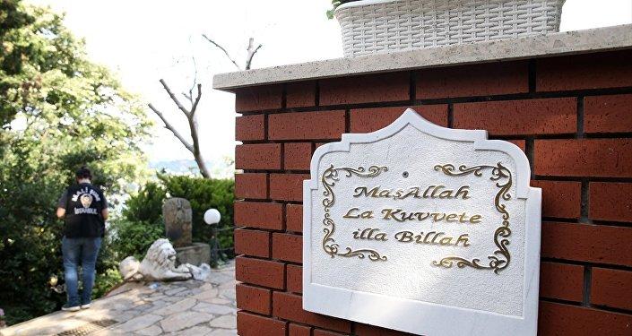 Adnan Oktar'ın evine düzenlenen operasyondan.