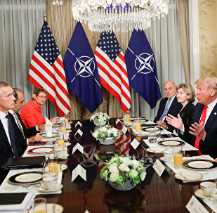 ABD Başkanı Donald Trump- NATO Genel Sekreteri Jens Stoltenberg