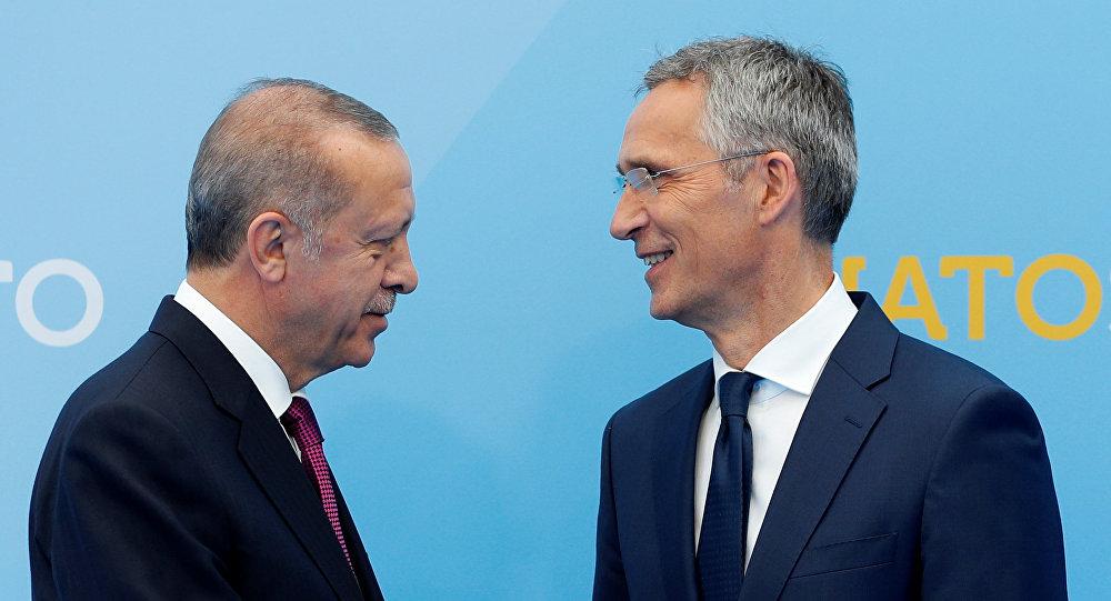 Cumhurbaşkanı Recep Tayyip Erdoğan- NATO Genel Sekreteri Jens Stoltenberg