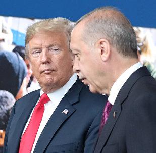 ABD Başkanı Donald Trump- Cumhurbaşkanı Recep Tayyip Erdoğan