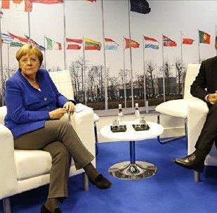 Merkel ile Erdoğan