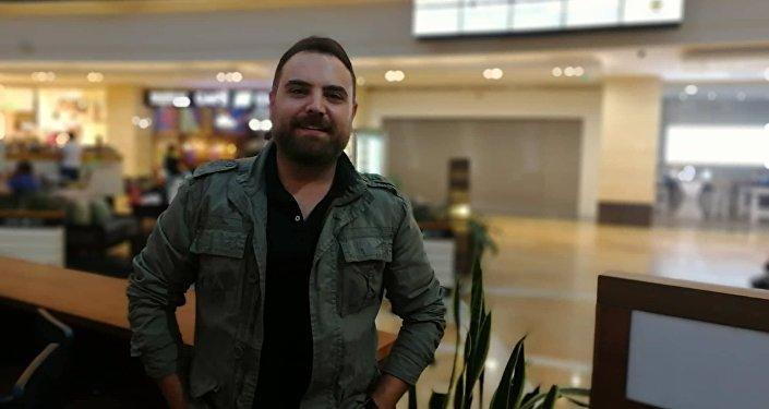 Suriyeli aktör Ayman Abdel Salâm