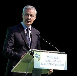 Fransa Maliye Bakanı Bruno Le Maire