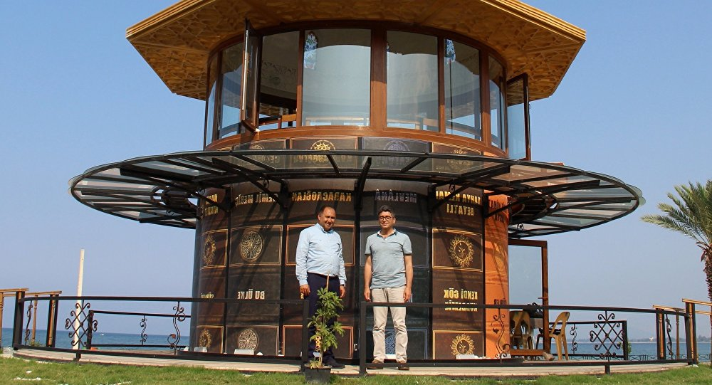 Antalya'da deniz manzaraları Millet Kıraathanesi açıldı