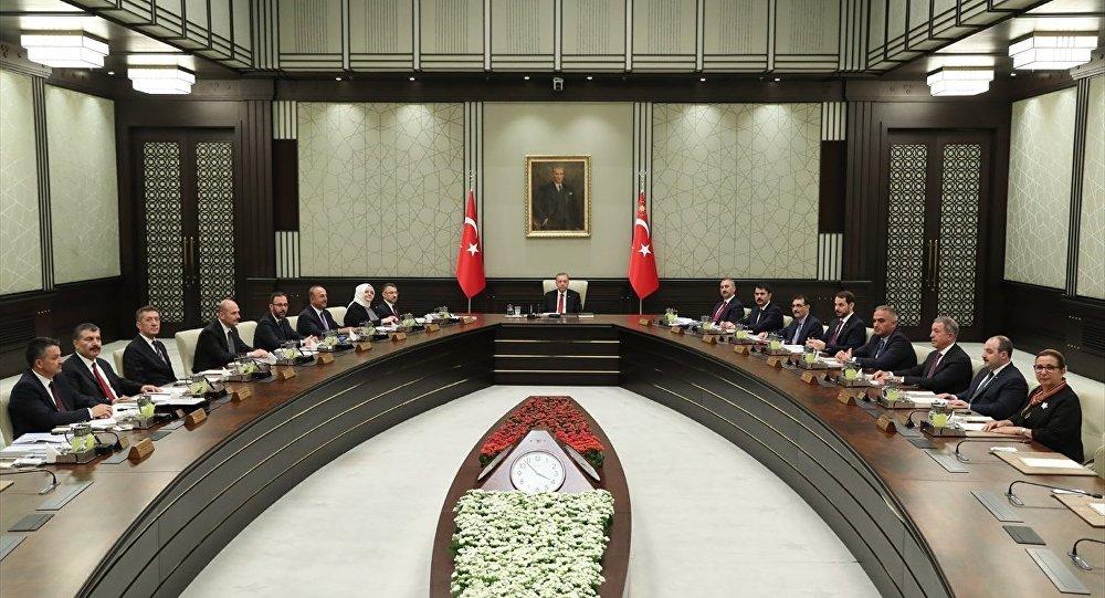 Cumhurbaşkanlığı Kabine Toplantısı