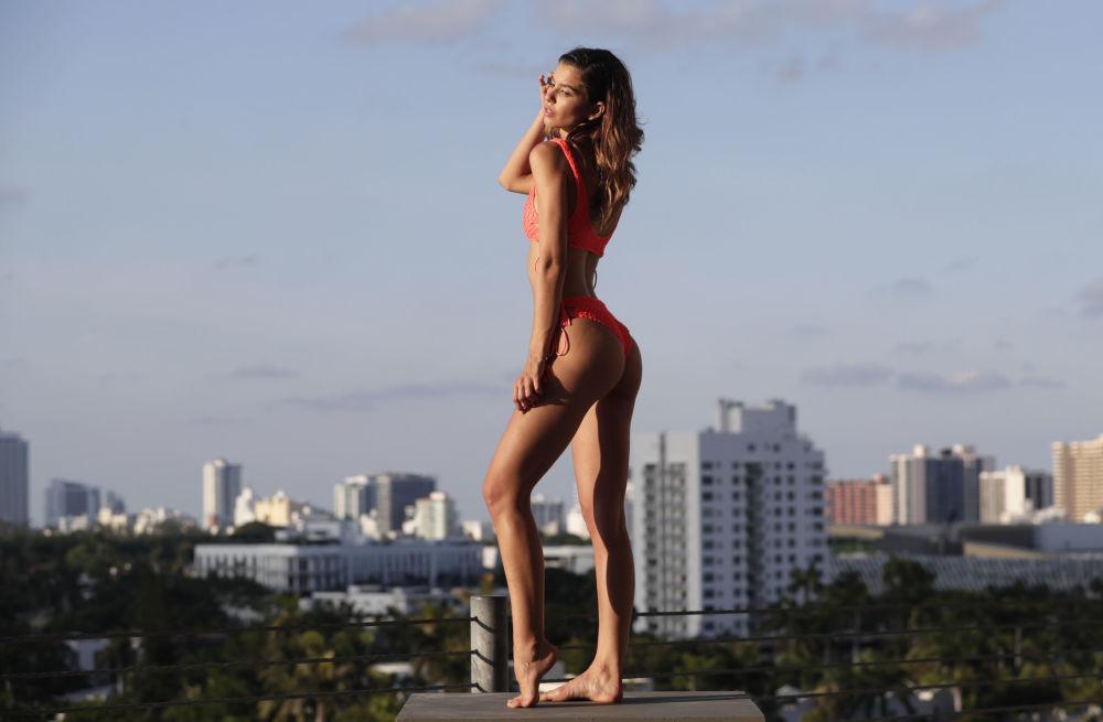 Miami'de plaj moda  haftası