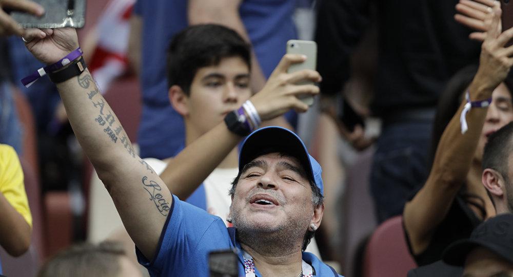 Efsane futbolcu Diego Maradona: Kalben Filistinliyim