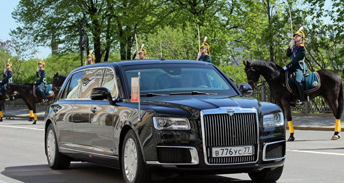 Putin'in limuzi