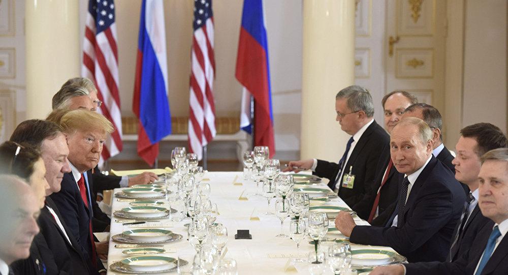 ABD Başkanı Donald Trump- Rusya lideri Vladimir Putin