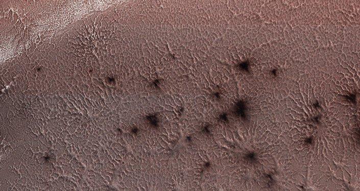 NASA, 'Mars örümceklerine' ait yeni görüntü yayınladı!