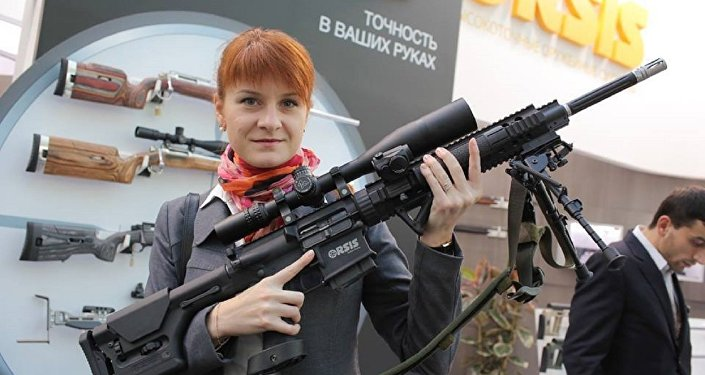 Russian student Mariia Butina was arrested on July 16 over allegations she failed to register as a foreign agent.