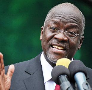Tanzanya Devlet Başkanı John Pombe Magufuli
