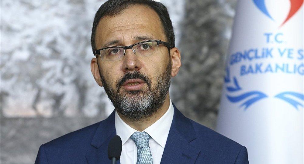 Gençlik ve Spor Bakanı Mehmet Kasapoğlu