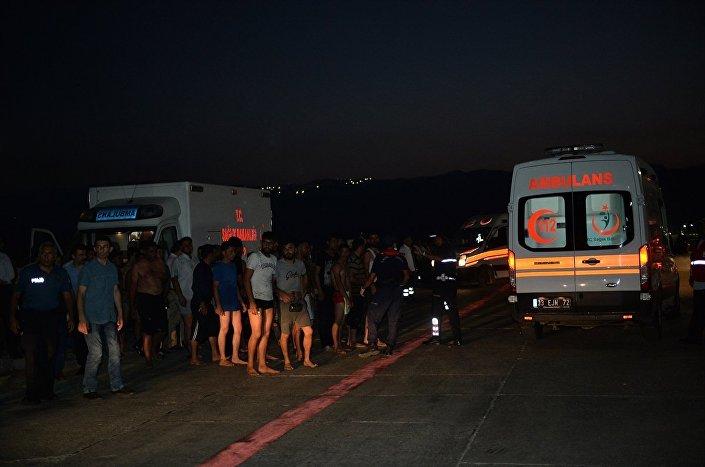 Kıbrıs açıklarında kurtarılan 102 göçmen Mersin'e getirildi