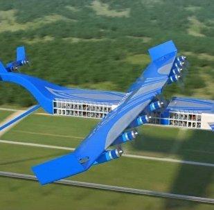 uçan tren tasarımı