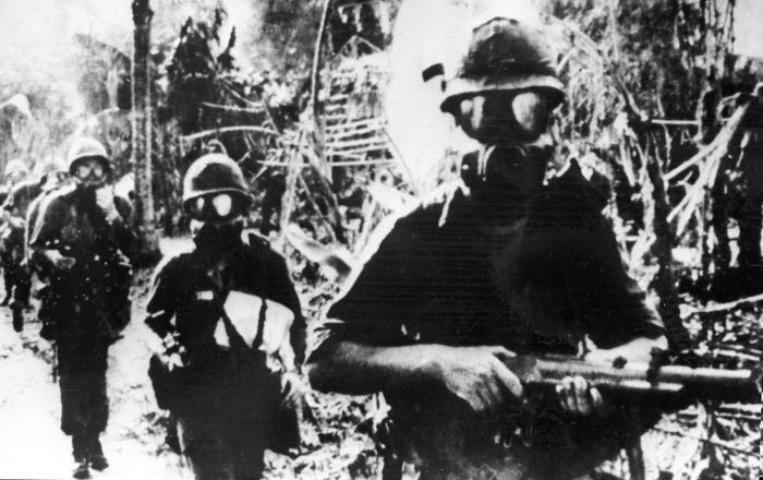 ABD'li askerler Güney Vietnam'da