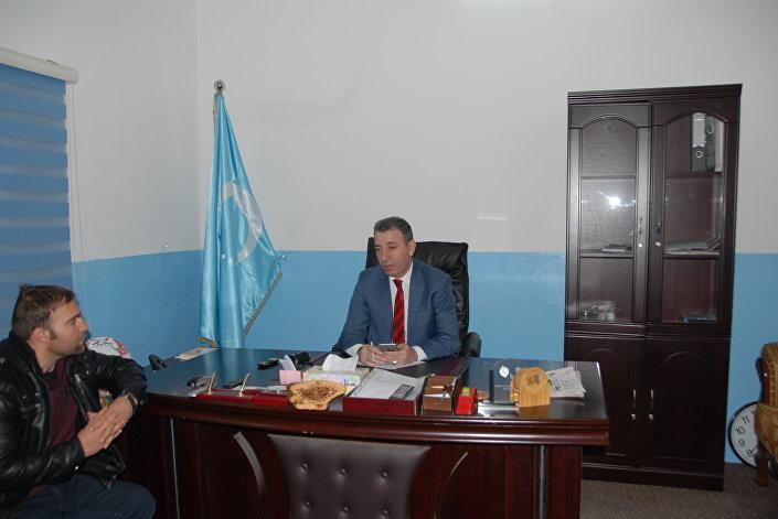 Irak Türkmen Partisi Politbüro Üyesi ve Milletvekilli Aydın Maruf Sputnik muhabiri Hikmet Durgun'a konuştu
