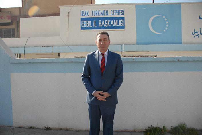 Irak Türkmen Partisi Politbüro Üyesi ve Milletvekilli Aydın Maruf