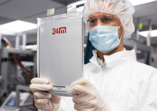 24M says its new lithium-ion battery