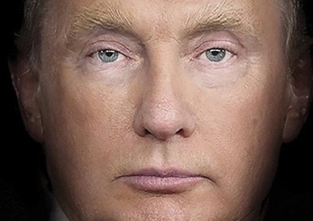 Time, yeni sayısının kapağında Putin ve Trump'ı 'birleştirdi'