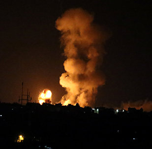 İsrail, askerlerine ateş açıldığı gerekçesiyle Gazze'ye geniş çaplı saldırı düzenledi - 20 Temmuz 2018