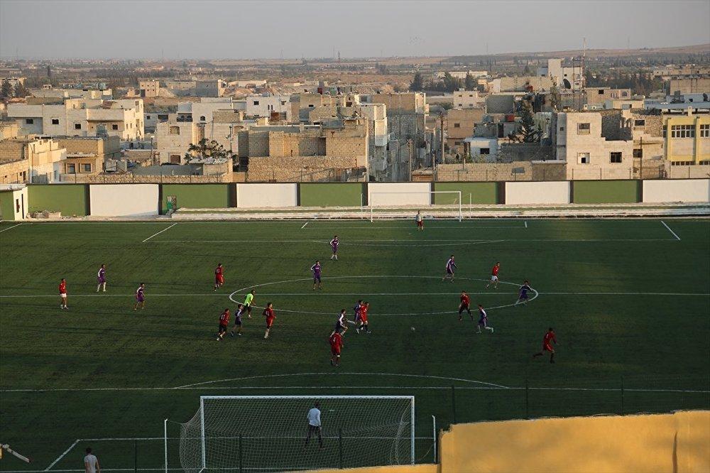 Türkiye'den Bab'a spor kompleksi