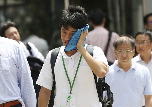 Japonya aşırı sıcakla boğuşuyor
