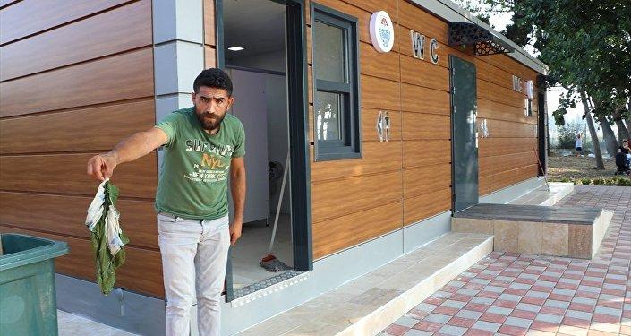 Yalova'da 193 bin liralık tuvalet tahrip edildi