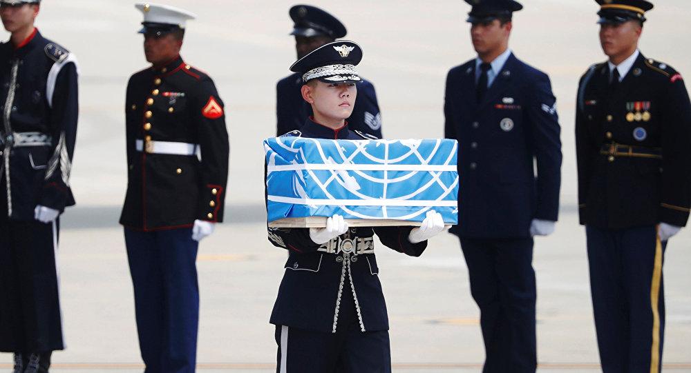 Kuzey Kore, Kore Savaşı'nda hayatını kaybeden ABD askerlerinin kalıntılarını ülkelerine gönderdi