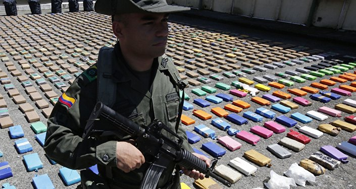 Kolombiya-Kokain