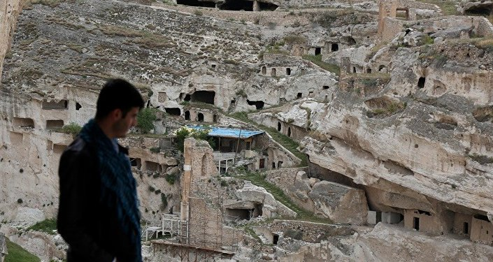 Tarihi yapılar yeni Hasankeyf'e taşınmaya devam ediyor