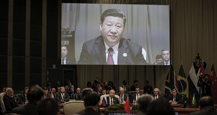 Çin Devlet Başkanı Şi Cinping, BRICS Zirvesi'nde
