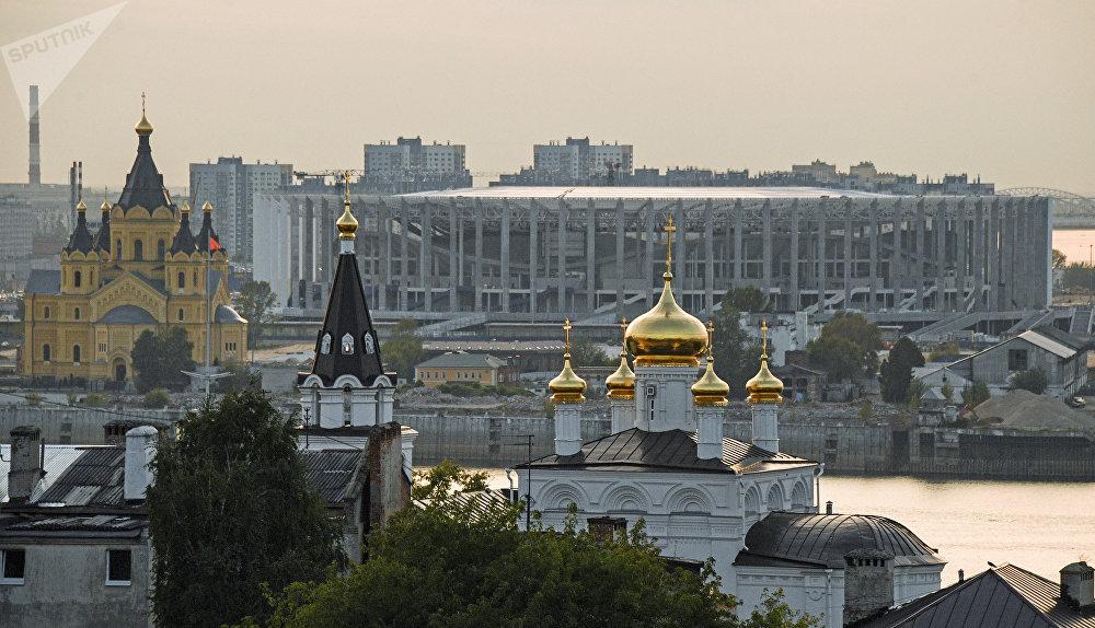 Nijniy Novgorod Stadyumu, Nijniy Novgorod.