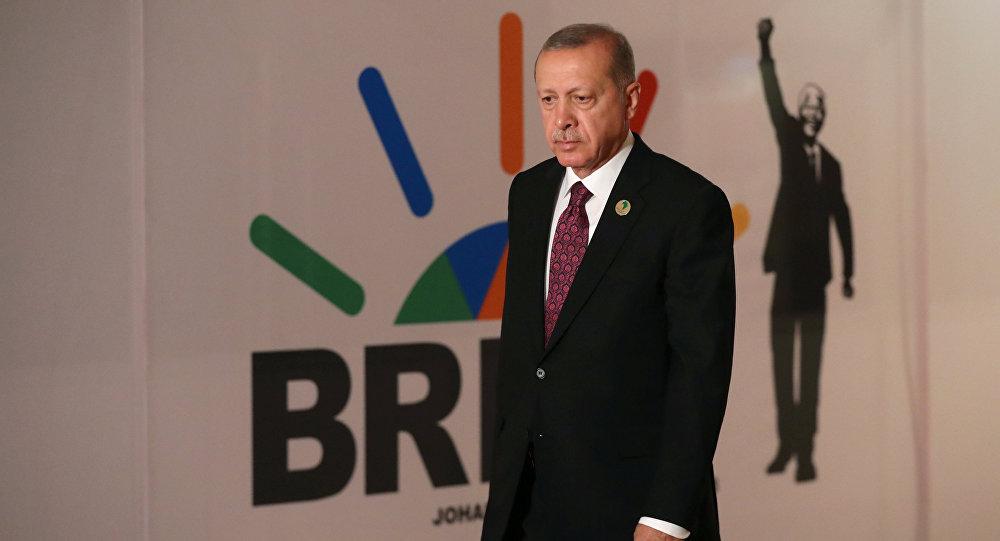 Erdoğan, Mandela'nın bağımsızlık lideri olduğu Güney Afrika'daki BRICS zirvesinde