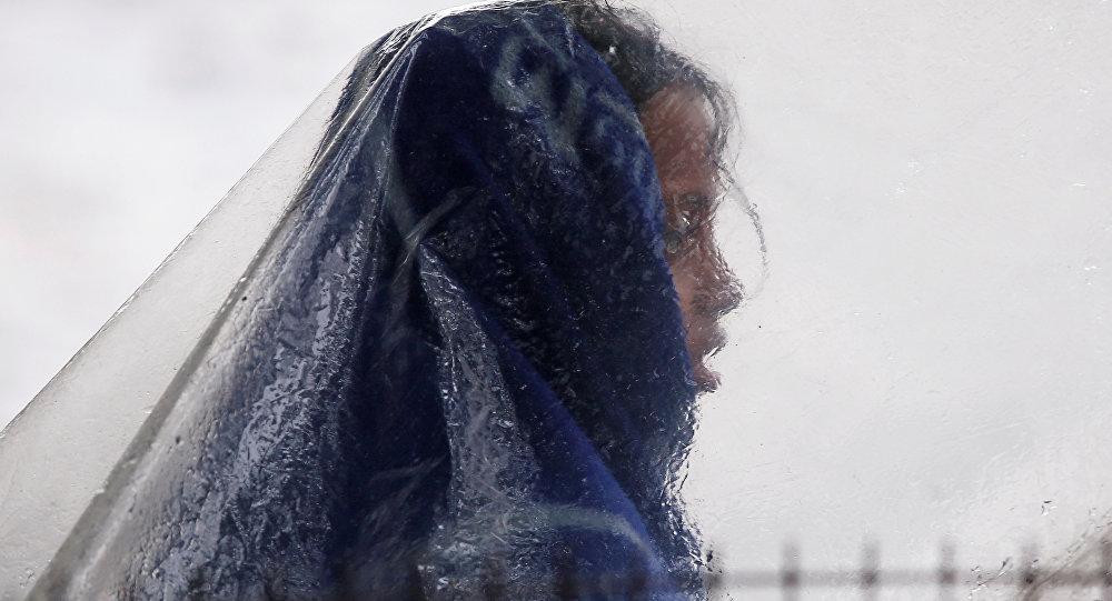 Hindistan'da sağanak yağış