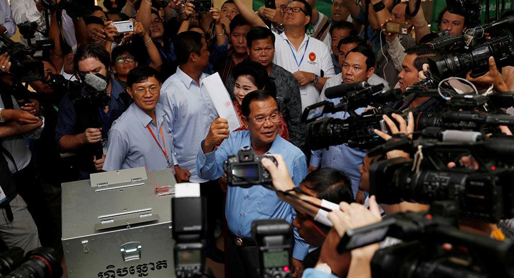 Kamboçya Başbakanı Hun Sen