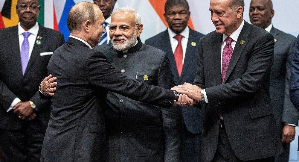 BRICS, Recep Tayyip Erdoğan, Vladimir Putin