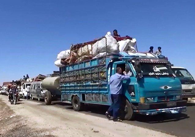 Suriye'de Rusya'nın yardımıyla 16 bin aile evlerine döndü