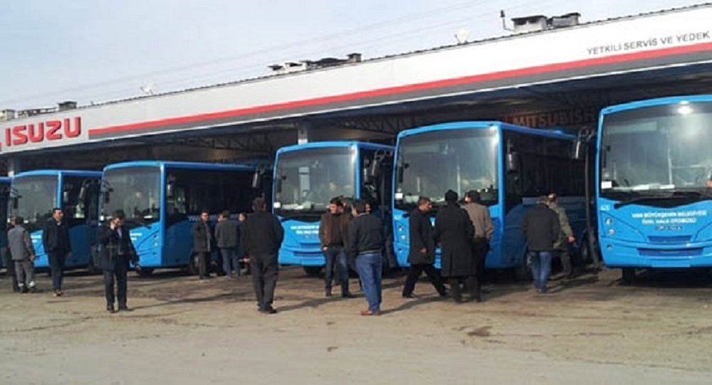 Van'daki halk otobüsleri