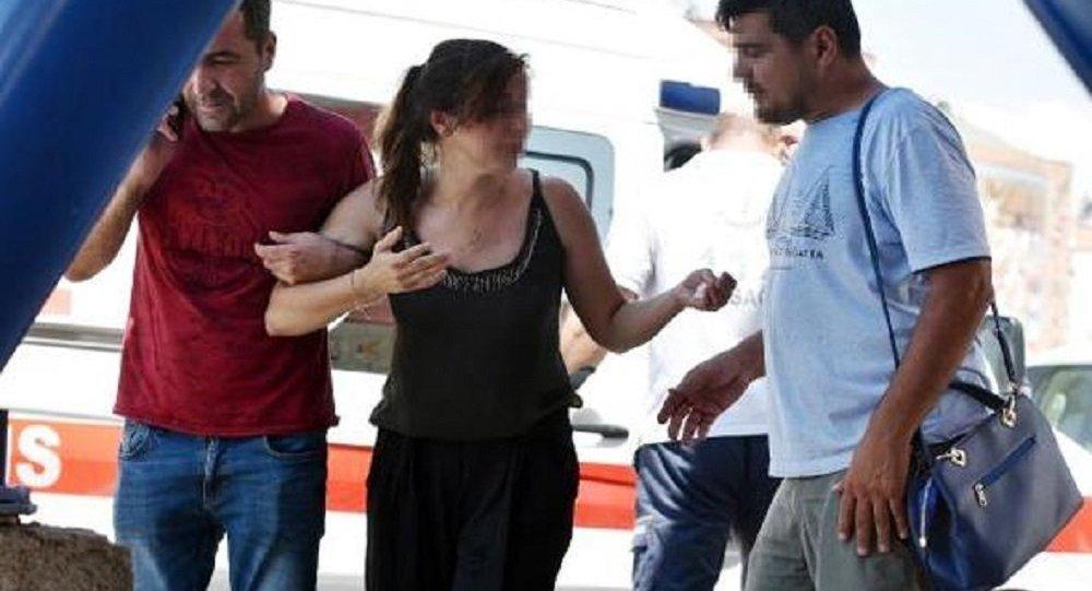 Kaza geçiren kadın: 'Kafama vurma' dedim sana, arabam gitti