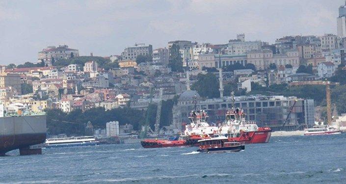 İstanbul Boğazı, tanker, arıza