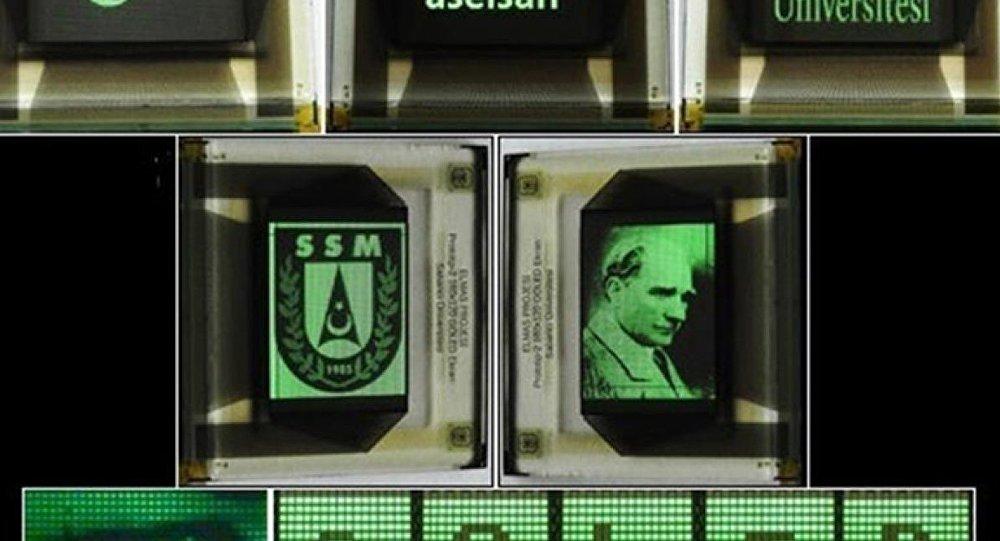 Türk mühendisler, 'en yüksek piksel çözünürlüğüne sahip grafen tabanlı ekranı' üretti