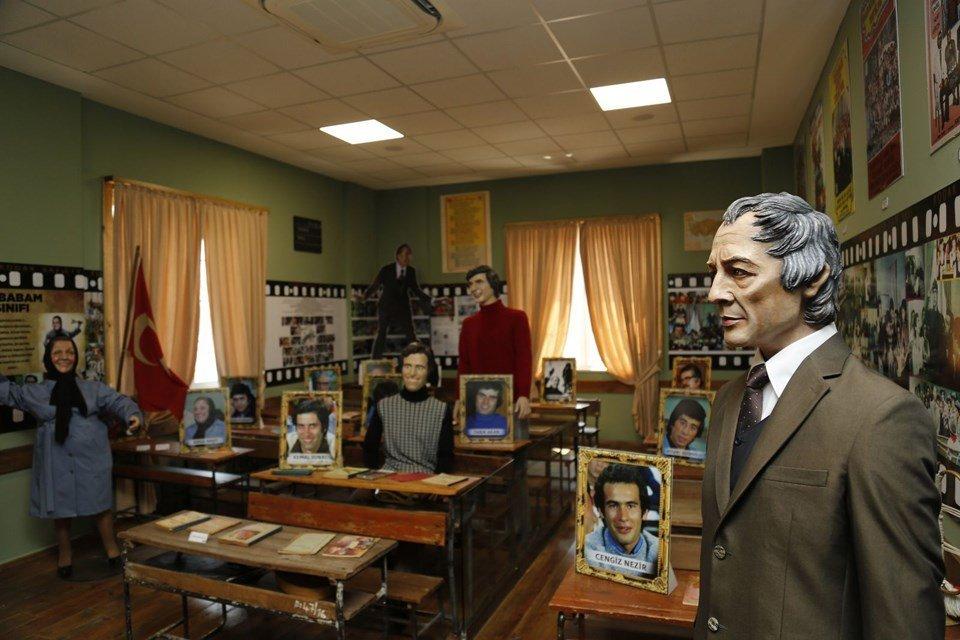 'Hababam Sınıfı' anıları bu müzede canlanıyor