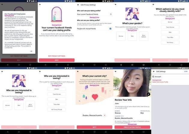 Facebook, çöpçatanlık uygulamasını test etmeye başladı