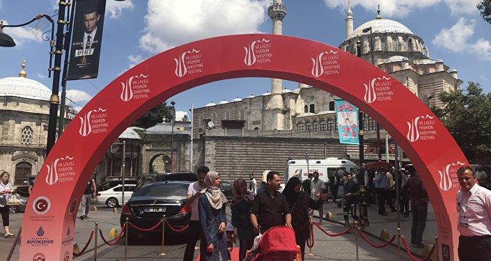 Laleli Sanayici ve İşadamları Derneği (LASİAD) tarafından bu yıl yedincisi düzenlenen Laleli Fashion Shopping Festival