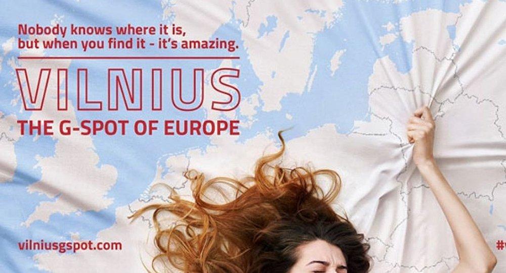Litvanya tanıtım için ülkesini kadın cinsel organına benzetti