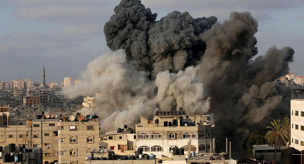 İsrail jetleri Gazze'yi vurdu