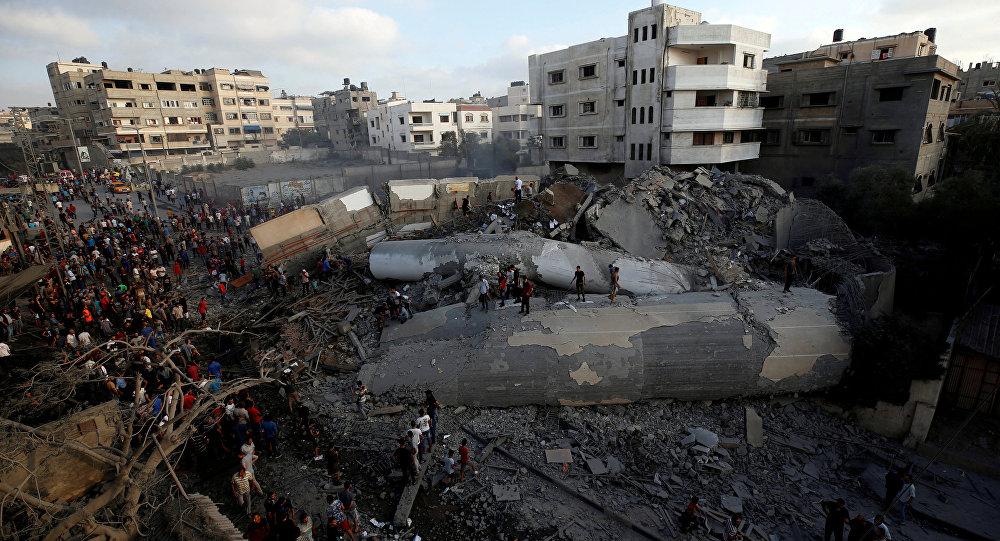 İsrail sivilleri hedef aldı 18 yaralı