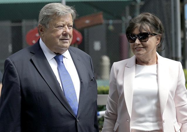 Melania Trump'ın ebeveynleri Viktor ve Amalija Knavs