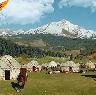 Kırgızistan'da Dünya Göçebe Oyunları heyecanı